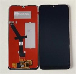 Дисплей Huawei Honor 8A в сборе с тачскрином черный - фото 6103