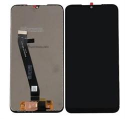 Дисплей Xiaomi Redmi 7 в сборе с тачскрином черный - фото 6452