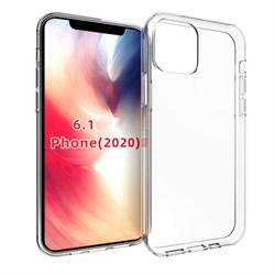 Чехол iPhone 12 / 12 Pro TPU прозрачный - фото 7575