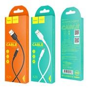 USB кабель Micro USB Hoco X25 (1 метр) белый