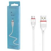 USB кабель Micro USB Borofone BX17 белый