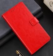 Чехол Xiaomi Redmi 8A книжка красный
