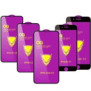 Защитное стекло iPhone 7 O.G. Full Glue белое