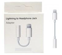 Переходник на наушники iPhone 7 lightning - 3.5mm (только прослушивание музыки)