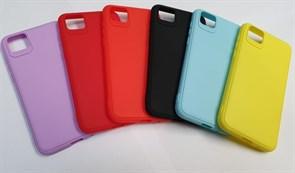Чехол iPhone X TPU Soft Touch цвета в ассортименте