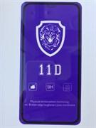 Защитное стекло iPhone XR / 11 11D Lion черное тех. упаковка