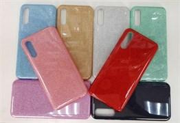 Чехол Samsung A01 / M01 TPU с блестком цвета в ассортименте