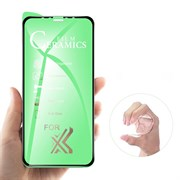 Защитная пленка iPhone 6 / 7 / 8 Plus CERAMICS тех. упаковка черная
