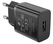 СЗУ USB адаптер Borofone BA52A (2.1A / 1 USB) черный