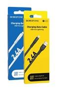 USB Кабель iPhone (lightning) Borofone BX23 черный