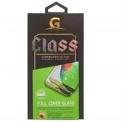Защитное стекло iPhone XR / 11 5D G.ONE с сеточкой динамика черное