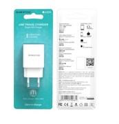 СЗУ USB адаптер Borofone BA20A (2A / 1 USB) белый