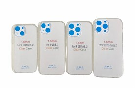 Чехол iPhone 13 Pro силикон 1.5мм прозрачный